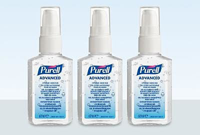 Testen Sie PURELL® Advanced Hygienische Händedesinfektion