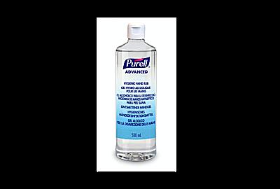 Neues Produkt – 500-Milliliterflasche PURELL advanced mit Flip-Cap