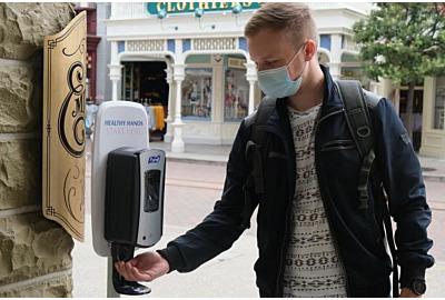 DISNEYLAND PARIS® setzt bei seinem Hygienemangement auf PURELL