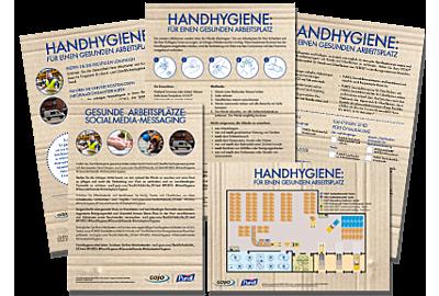 Informationsmaterialien zum Download: Lagerhäuser und Produktionsstätten