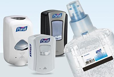 Innovative Touch-Free Spender von PURELL®