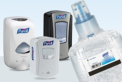 Innovative Touch-Free Spender von PURELL®