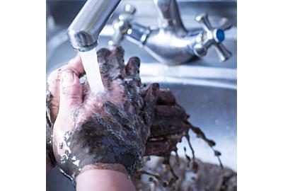schmutzige Hände