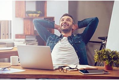 Bald ist Schluss mit Home-Office: Back to work