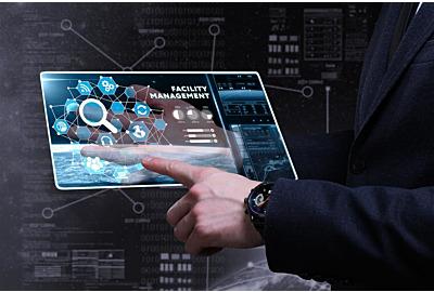 Business-, Technologie-, Internet- und Netzwerkkonzept. Junge Geschäftsleute, die Wort schreiben: Anlagenverwaltung