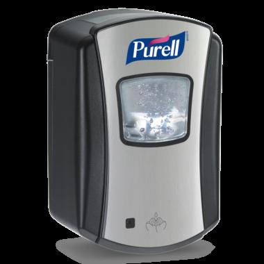 PURELL® LTX-7™ Touch Free Dispenser 700mL, chrome/black