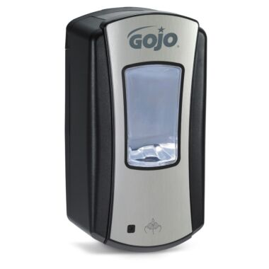 GOJO® LTX-12™ Touch-Free Dispenser 1200mL, chrome/black