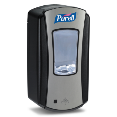 PURELL® LTX-12™ Dispenser 1200mL, chrome/black