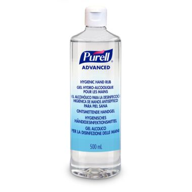 PURELL® Advanced Hygienic Hand Rub, 500mL with flip cap
