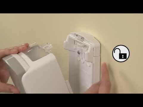 GOJO ADX Dispenser Lock and Unlock With LOGO